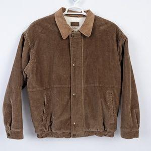 Vintage Pendleton Brown Corduroy Jacket  Sz L